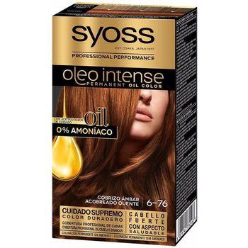 Beauté Femme Colorations Syoss Olio Intense Tinte Sin Amoniaco 6.76-cobrizo Ambar