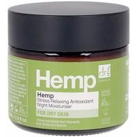 Beauté Femme Hydratants & nourrissants Dr. Botanicals Hemp Stress Relaxing Antioxidant Night Moisturiser