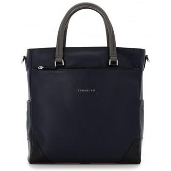 Sacs Femme Cabas / Sacs shopping Scharlau km 7 Bleu et gris