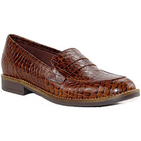 Chaussures Femme Mocassins Maroli 7428 MARRON CROCO