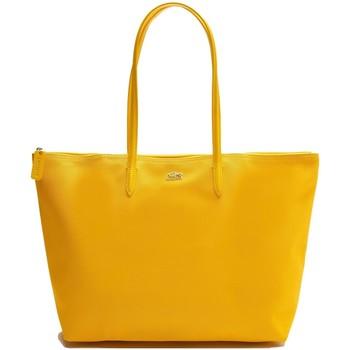 Sacs Femme Cabas / Sacs shopping Lacoste Sac shopping  Ref 40372 H25 Jaune 35*30*14 Jaune