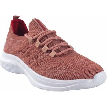Chaussures Femme Baskets basses Sweden Kle Chaussure femme  182288 saumon Rose
