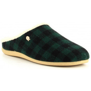 Chaussures Homme Chaussons Hot Potatoes TIJVIN 61077 vert