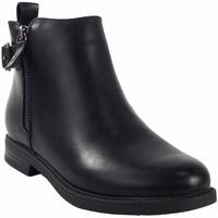 Chaussures Fille Boots Bubble Bobble Butin fille  a3505 noir Noir