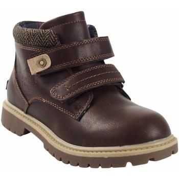 Chaussures Garçon Boots Bubble Bobble a3085 marron Marron