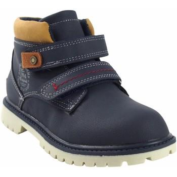 Chaussures Garçon Boots Bubble Bobble a3085 bleu Bleu