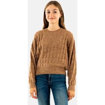 Vêtements Fille Pulls Molly Bracken mmef1516aa21 camel marron