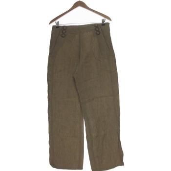Vêtements Femme Pantalons fluides / Sarouels Burton Pantalon Droit Femme  40 - T3 - L Marron