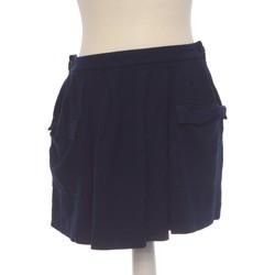 Vêtements Femme Jupes Lacoste Jupe Courte  40 - T3 - L Bleu