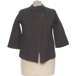 Vêtements Femme Gilets / Cardigans Camaieu Gilet Femme  36 - T1 - S Gris
