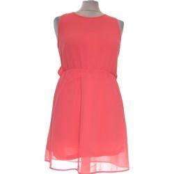 Vêtements Femme Robes courtes H&M Robe Courte  36 - T1 - S Rose