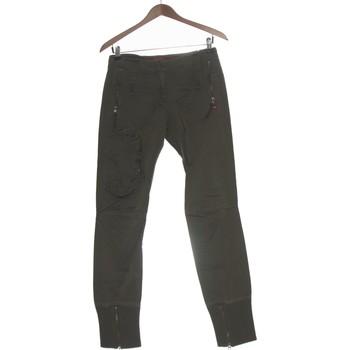 Vêtements Femme Chinos / Carrots Miss Sixty Pantalon Slim Femme  34 - T0 - Xs Vert