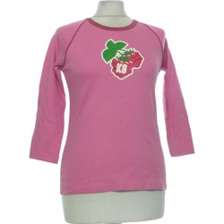 Vêtements Femme Tops / Blouses Kanabeach Top Manches Courtes  38 - T2 - M Rose