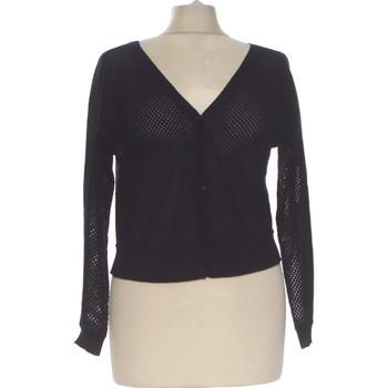 Vêtements Femme Gilets / Cardigans DDP Gilet Femme  34 - T0 - Xs Bleu