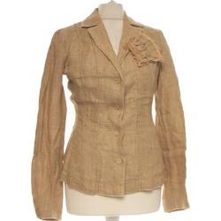 Vêtements Femme Vestes / Blazers Adolfo Dominguez Blazer  38 - T2 - M Marron