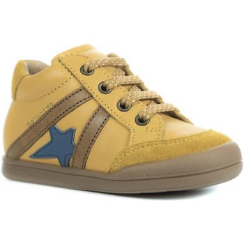 Chaussures Garçon Baskets montantes Babybotte Fergus jaune