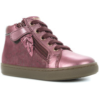 Chaussures Fille Baskets montantes Babybotte Alouette Rose