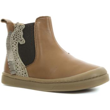 Chaussures Fille Boots Babybotte Altea Marron