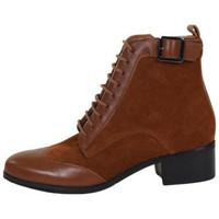 Chaussures Femme Bottines Karston Bottine tonka Marron