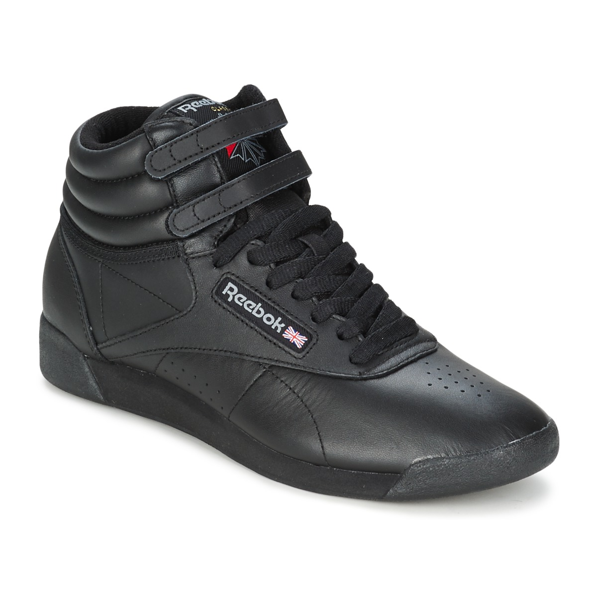 check out 8e201 8859a Chaussures Femme Baskets montantes Reebok Classic FREESTYLE HI Noir