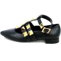 Chaussures Femme Ballerines / babies L'angolo 521T144.01_37 Noir