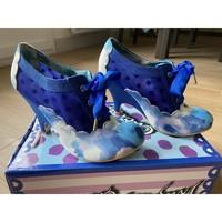 Chaussures Femme Bottines Irregular Choice Bottines Quick Step Irregular Choice Bleu