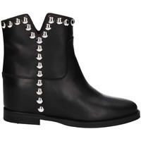 Chaussures Femme Bottines Via Roma 15 3620 Noir