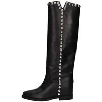 Chaussures Femme Bottes ville Via Roma 15 3619 Noir