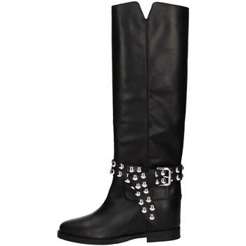 Chaussures Femme Bottes ville Via Roma 15 3551 Noir