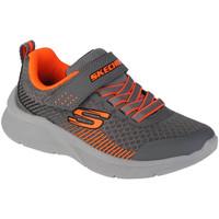 Chaussures Garçon Fitness / Training Skechers Microspec-Gorza Grise