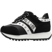 Chaussures Garçon Baskets basses 4Us Paciotti - Sneaker nero 4U-011 NERO