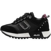 Chaussures Garçon Baskets basses 4Us Paciotti - Sneaker nero 4US-010 NERO