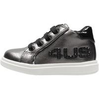 Chaussures Garçon Baskets montantes 4Us Paciotti - Polacchino grigio 4U-130 GRIGIO