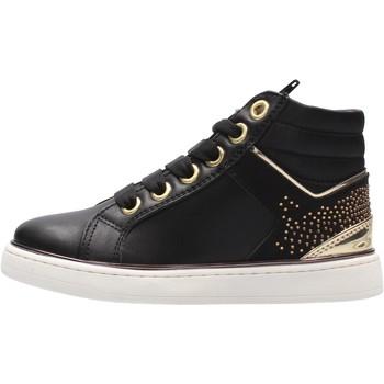 Chaussures Enfant Baskets montantes 4Us Paciotti - Polacchino nero  calz bimbo 4U-023 NERO