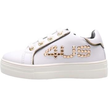 Chaussures Fille Baskets basses 4Us Paciotti - Sneaker bianco 4U-064 BIANCO