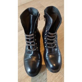Chaussures Femme Boots FRU IT Boots Fru It Noir T.39 Noir