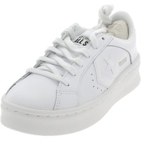 Chaussures Homme Baskets basses Converse PRO LEATHER LIFT OX BIANCHE Blanc