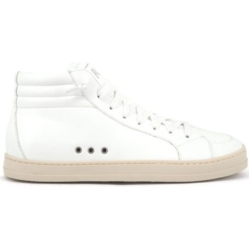Chaussures Femme Baskets montantes P448 Skate Vegan  Blanc Blanc Blanc
