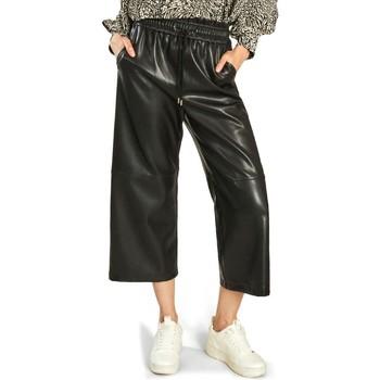 Vêtements Femme Pantalons fluides / Sarouels Suncoo Pantalon Jimbo Noir Noir