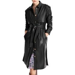 Vêtements Femme Vestes Suncoo Manteau Ester Noir Noir