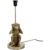 Maison & Déco Lampes à poser Amadeus Base de Lampe de table Singe 37 cm - N'entends pas