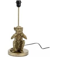 Maison & Déco Lampes à poser Amadeus Base de Lampe de table Singe 37 cm - Ne parle pas