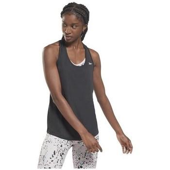 Vêtements Femme Débardeurs / T-shirts sans manche Reebok Sport US Perform Mesh Tank Graphite