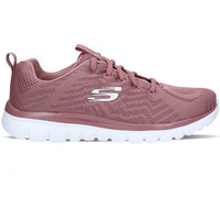 Chaussures Femme Baskets basses Skechers Graceful Get Connected Rose