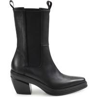 Chaussures Femme Bottines Elena Iachi Texan Black