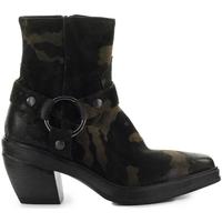 Chaussures Femme Bottines Elena Iachi Texan Brown