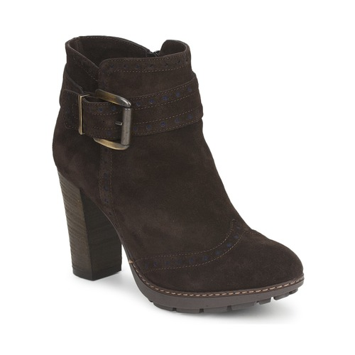 Chaussures Femme Bottines Tosca Blu CLAUDIE BOTTINE Marron