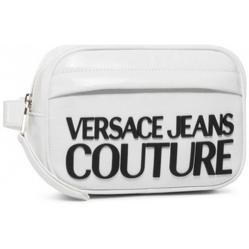 Sacs Pochettes / Sacoches Versace Banane femme versace blanc brillant  E1VVBBM2 Blanc