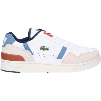 Chaussures Homme Multisport Lacoste 42SMA0050 T-CLIP Blanco