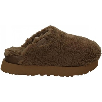 Chaussures Femme Chaussons UGG FUZZ SUGAR SLIDE hickory